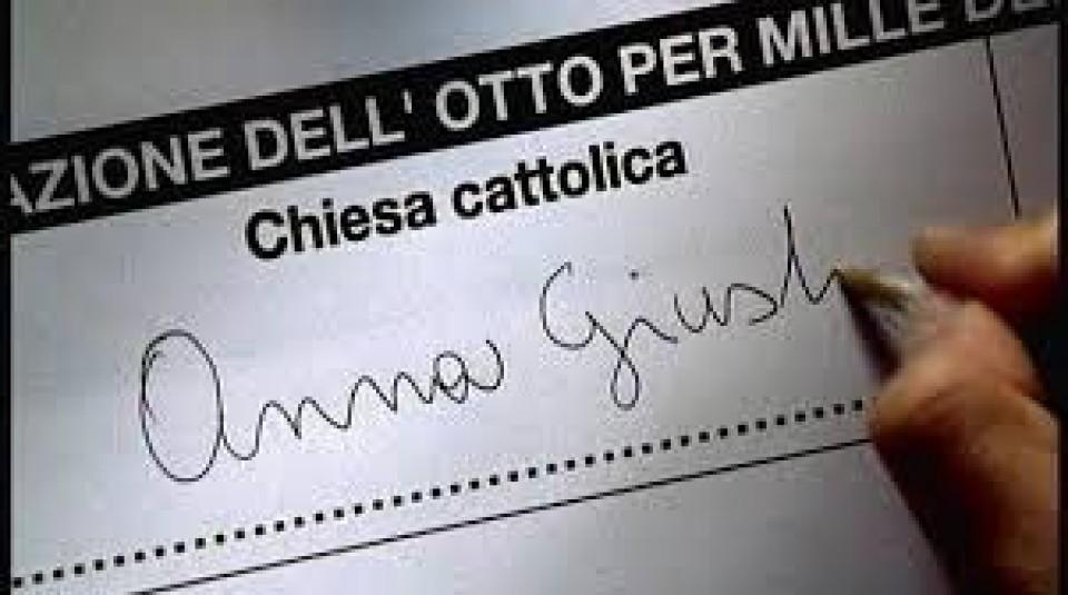 Contributo 8x1000 anno 2019 dalla Diocesi alla parrocchia di Sant'Eusebio